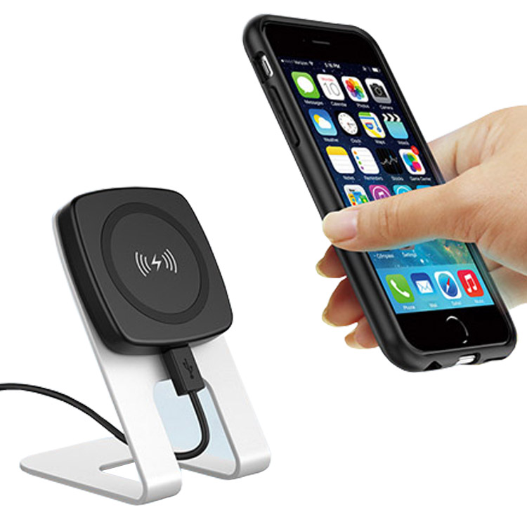 44190af56e7a51 Universal magnetic QI standard wireless cell phone charger for xiaomi  samsung IPhone