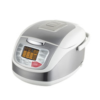 Manufacturer Multi Rice Cooker with Four Digital Display 24hours Preset Cooking Easier