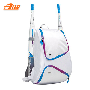 baseball bat bag white baseball backpack