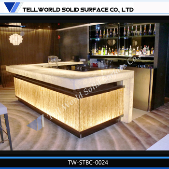 Fashion Bar Counter Designs Small Bar Counter With Led/nightclub Bar ...