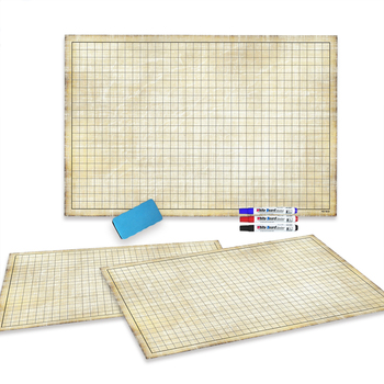 Custom Dry Erase Dnd Rpg Battle Grid Game Map Wargame Play