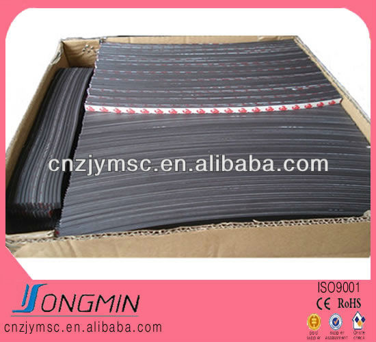flexible magnetic strips 1.5 mm thick with 3m adhesive