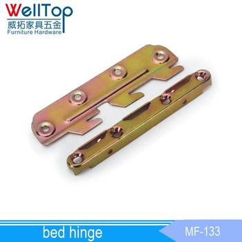 Iron Furniture Barbed Wire Brackets Folding Bed Hinge Mf-133 - Buy ...