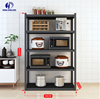 Eco-Friendly 25Kg 5 tiers steel rack balcony/home/kitchen storage shelves for Warehouse