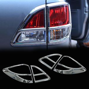latest car accessories best chrome rear light cover for BT-50 accessories