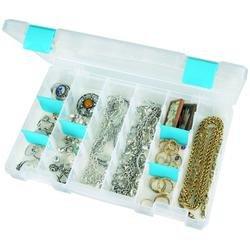 """Bulk Buy: Art Bin Tarnish Inhibitor Solutions Box 11""""x7""""x1.75"""" Translucent 6847AT (2-Pack)"""