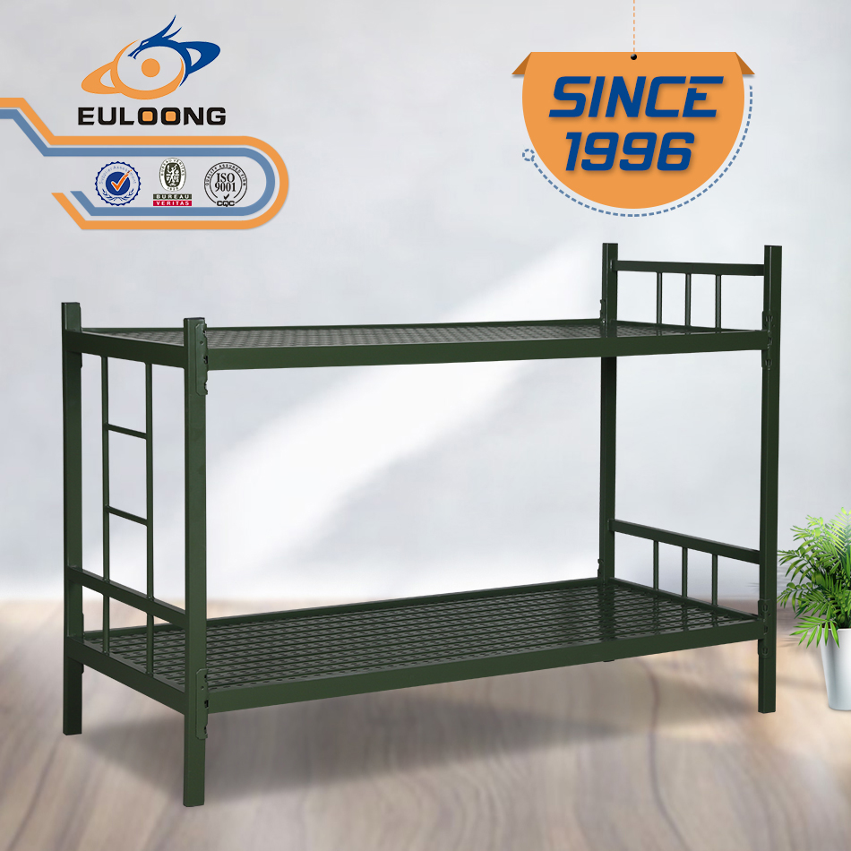 Vintage Metal Bunk Bed Design For House Luoyang Euloong Steel