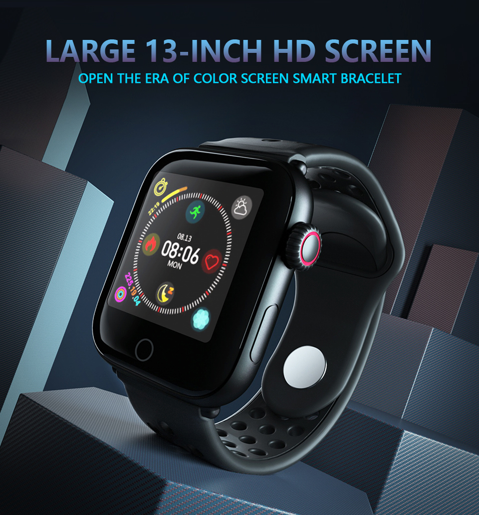 2019 Fashion Wrist Smart Watch Z7 with Accurate Blood Pressure Sport Training Fitness Tracker for Men and Women