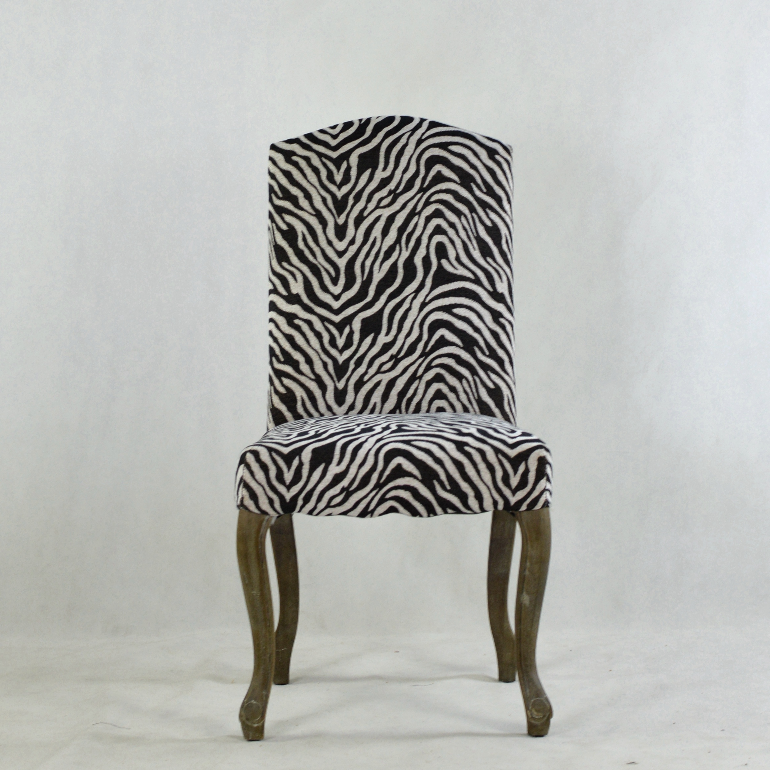 Frank Furniture Wholesale Wooden Dining Chair Zebra Style Home Decor High Back Dining Chair