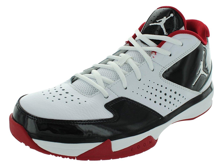 ea68d98807e4a3 Get Quotations · Nike Men s NIKE JORDAN ISO II LOW BASKETBALL SHOES 13  (WHITE WHITE BLACK