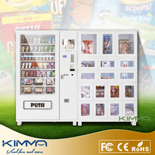 Stainless steel body packed things and durex condom vending machine at factory