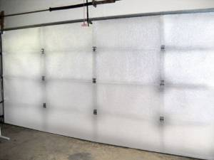 NASA TECH Reflective White Platinum Double Car Garage Door Insulation Foam Core Kit Fits Double Garage Car Doors up to 16ft by 7ft NASA Technology MADE IN THE USA