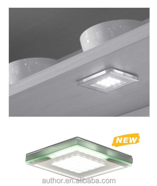 Modern Square 12v Led Under Cabinet Light For Kitchen