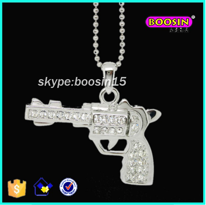 New Jewelry Design Fashion necklaces gun
