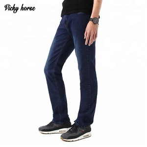 High quality designer denim jeans pants for young men