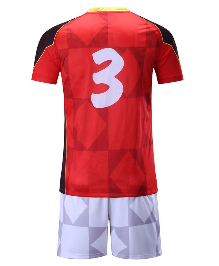 5927ad6bb China Custom Wholesale Custom Soccer Jerseys Kits Guangzhou Factory Custom  Images Sublimation Polyester Football Jerseys
