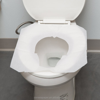 1 2 Half Single Fold White Disposable Flushable Paper