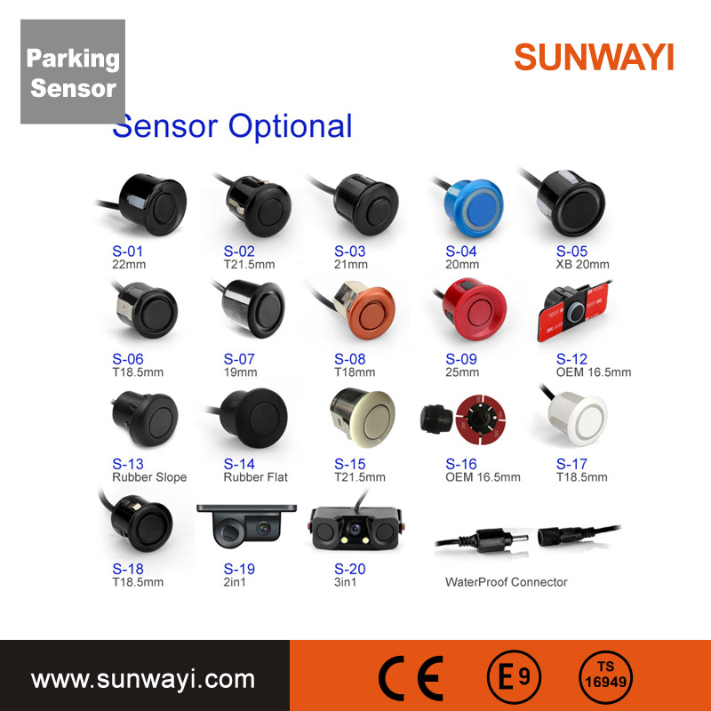New And Simple Installment Car Blind Spot Assist System