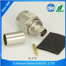 N-type Male Connector for LMR400 Cable Clamp