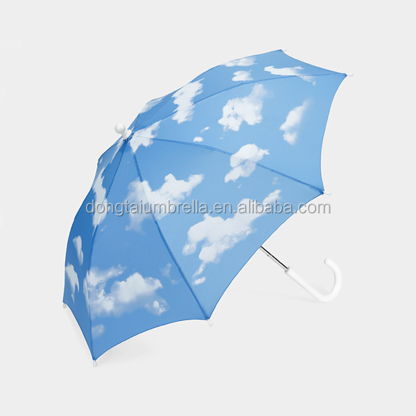 19''*8k hands manual open sky umbrella kids xiam factory