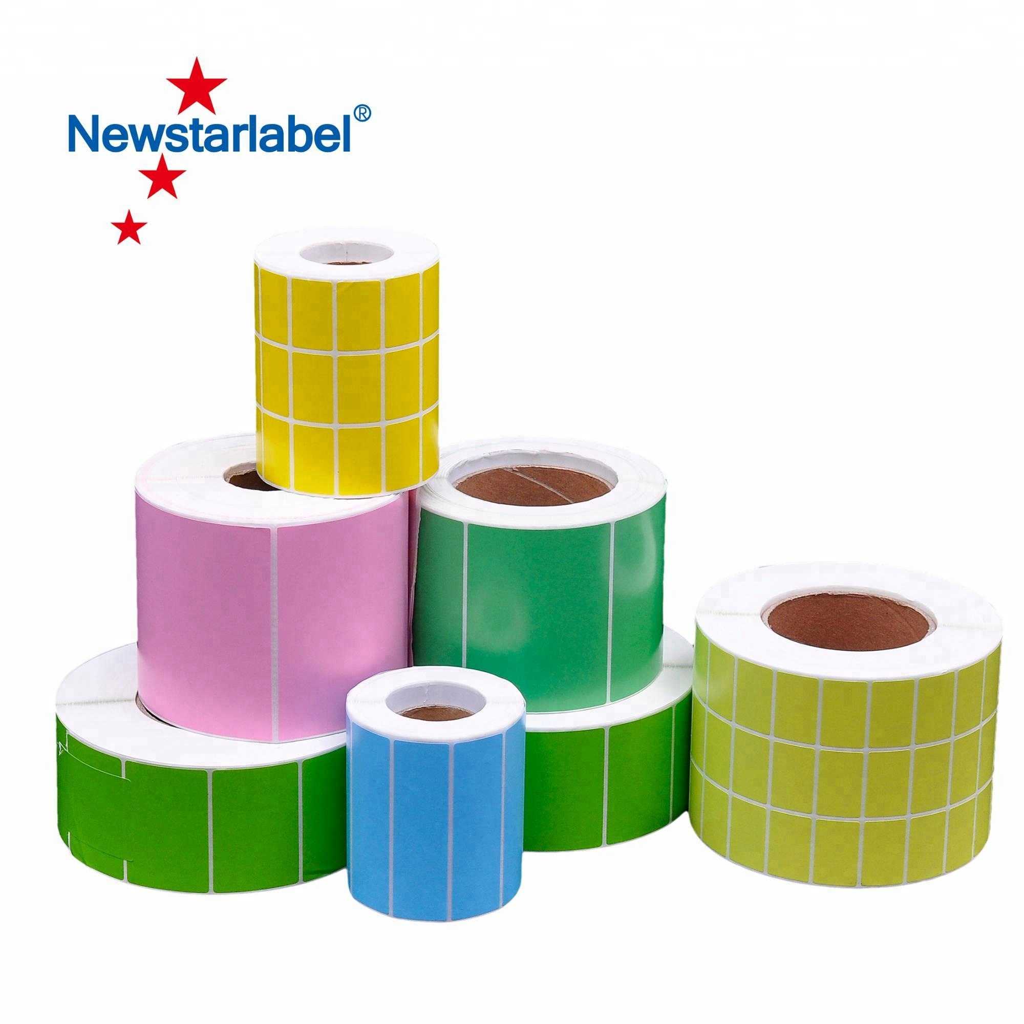 Custom adhesive color sticker label printing in roll or sheet