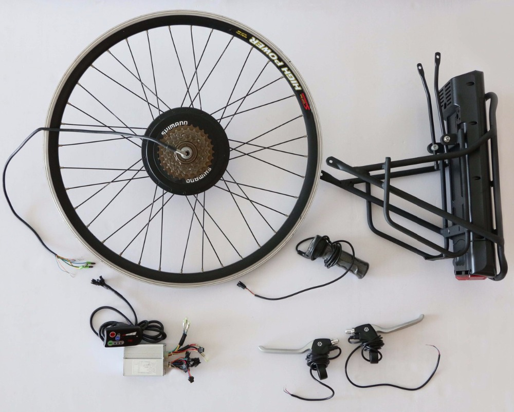 electric bicycle kit pedal assist, 1:1 PAS pedal assist system brushless hub motor electric bike conversion kit china