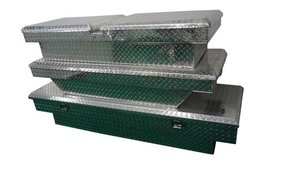 Custom light durable and secure aluminum Truck Toolbox wholesale