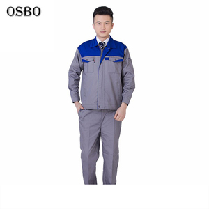 Fashion new design high quality safety working coverall workwear work uniform