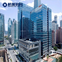Famous Prefabricated High Rise Steel Structure Frame Apartments Hotel