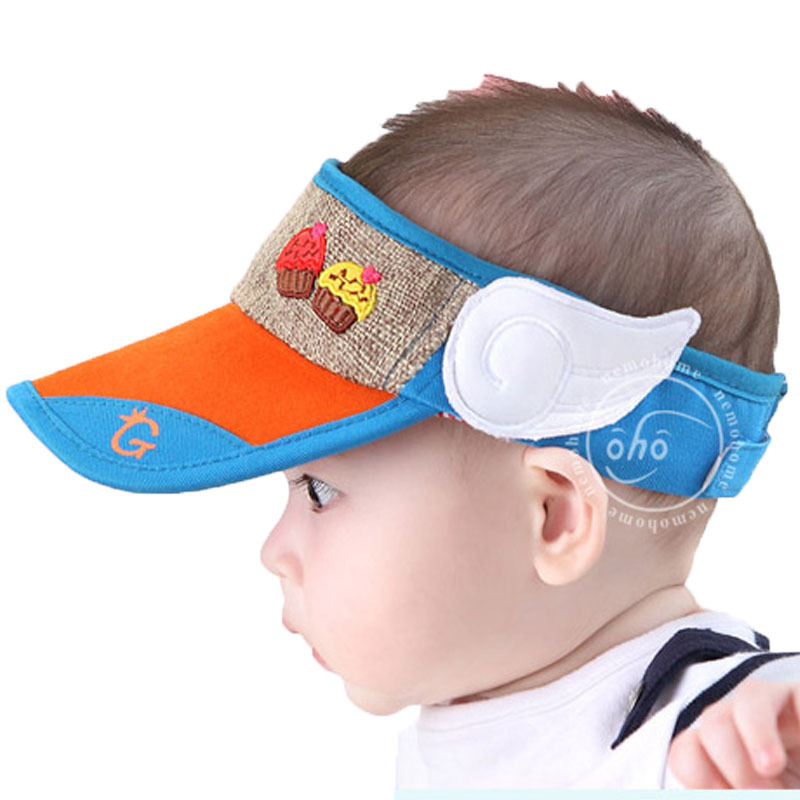 2c10220a020 Get Quotations · Baby summer sunshade pure cotton padded cap summer hat  baby toddler beanie cotton newborn hat crochet