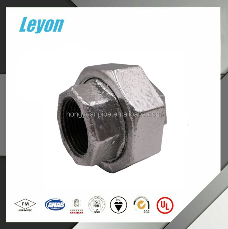 Manufacturers selling good quality price cheap 1 1/2 inch galvanized unions