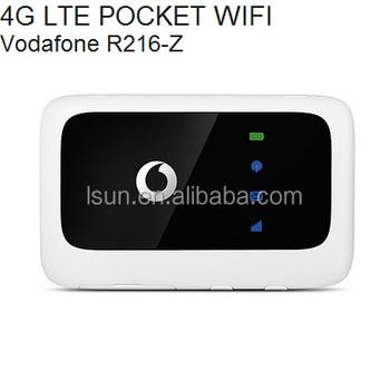 Zte Vodafone R216-z 4g Lte Mobile Wifi Hotspot R216-z 4g Lte Pocket Wifi  Wireless Router - Buy Zte Vodafone R216-z 4g Wireless Router,Zte Vodafone