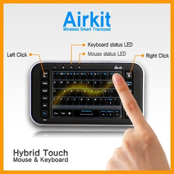 Wireless Mouse Keyboard For Iptv,Tablet Pc And Presentaton - Buy Smart  Trackpad Product on Alibaba com