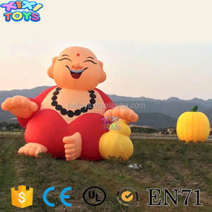 Outdoor New Year Party Inflatable View, Promotion Active Inflatable Decoration
