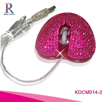 jewel rhinestone diamond computer mouse