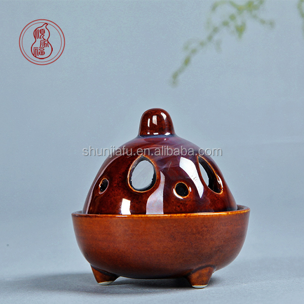 Ceramic Mini Arabic Incense Burner