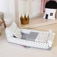Outdoor indoor portable travel foldable baby bed crib