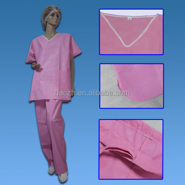 poly/cotton medical scrubs suits/medical nurse scrub design suits uniforms