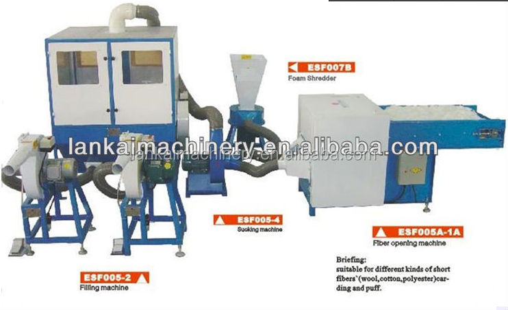 Hot selling ! Foam particles filling machines, Yoy filling machine Pillow high-pressure foam particles filling machine toys