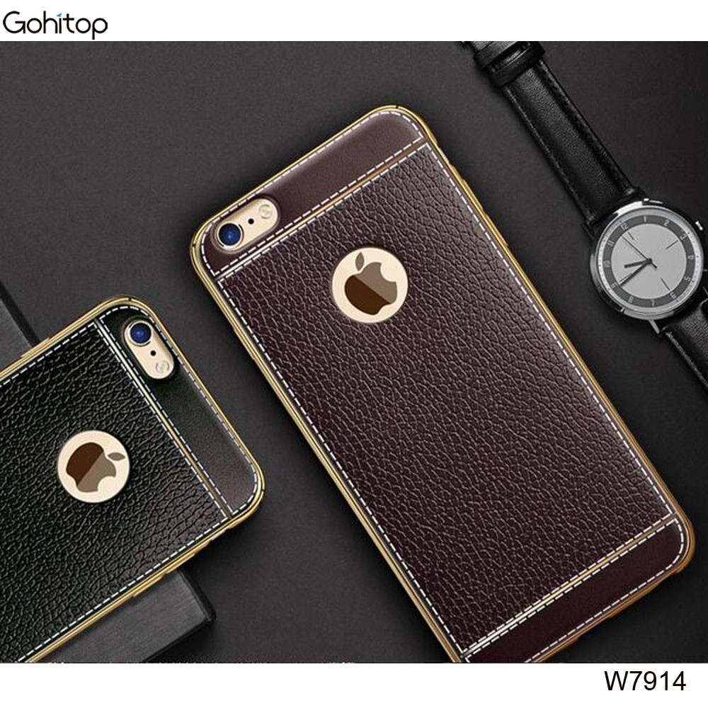 Case for iPhone 7 TPU Leather Material, Factory Price Soft Back Cover for iPhone 7