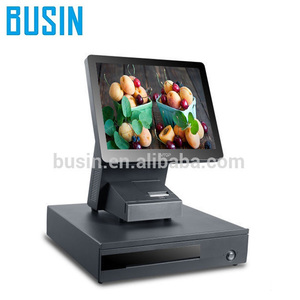 "TE5-R9+ 15"" 10 point Capacitive Touch Screen POS Machine with 58mm Built-in OEM pos printer & wifi"