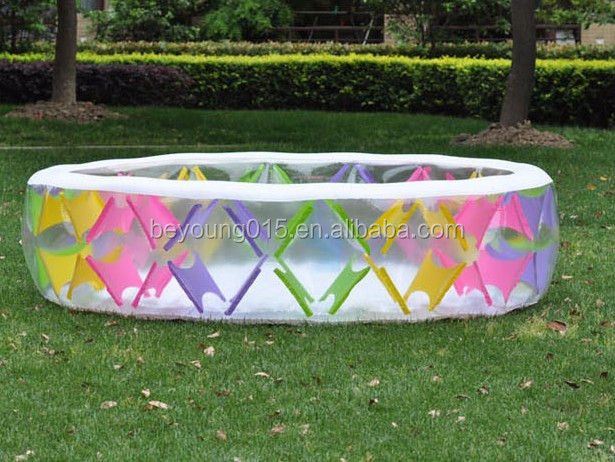 family size Intex Swim Center Pinwheel Inflatable round swimming Pool for kids