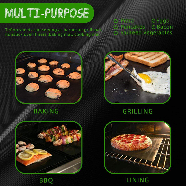 Groothandel Best Selling Barbecue Grillen Accessoires Herbruikbare Non Stick BBQ Grill Mat