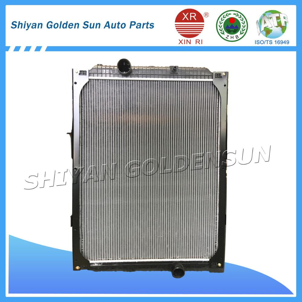 Chinese Plastic&Aluminum Auto Radiator T360 for Dongfeng truck radiator