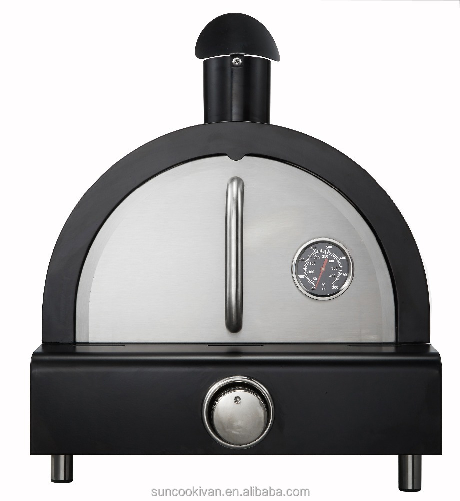 Table top gas pizza oven