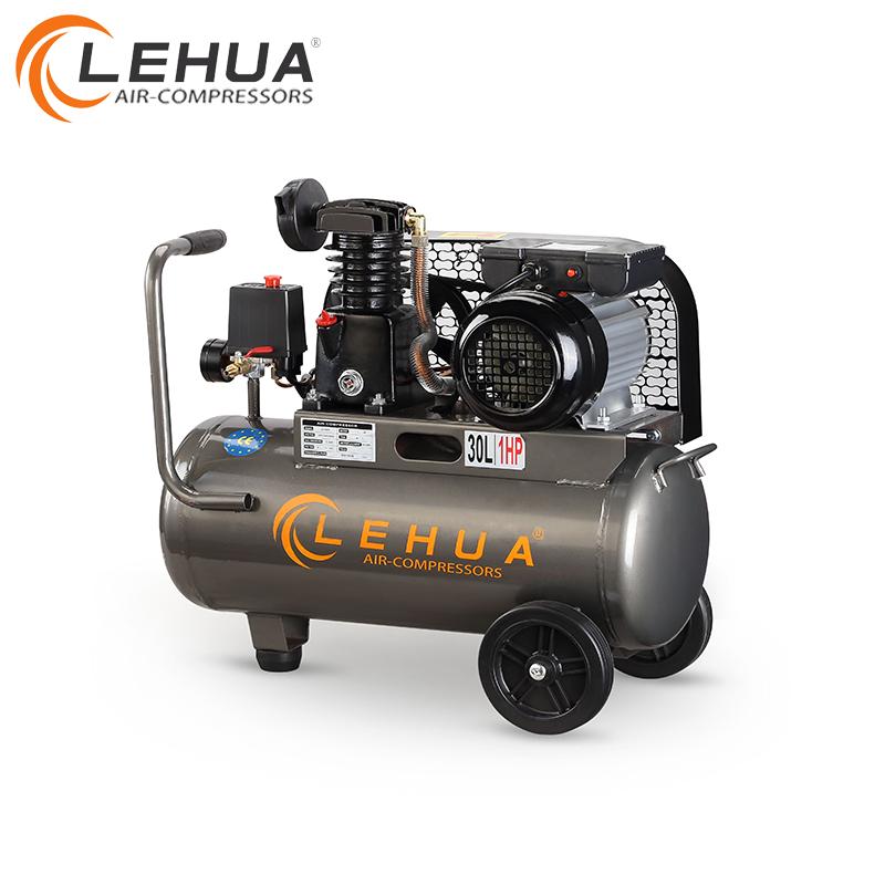 50L belt-driven portable 1hp piston air compressor for sale