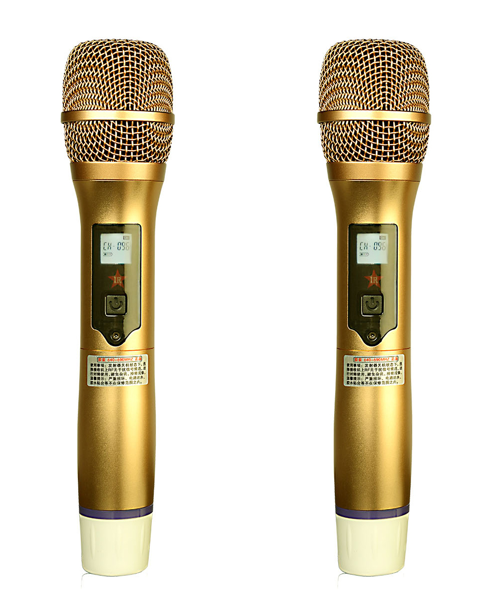 professional uhf wireless microphone for karaoke ok singing buy karaoke singing microphone. Black Bedroom Furniture Sets. Home Design Ideas