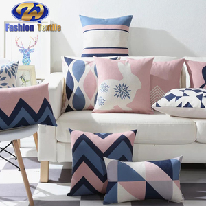 Factory direct provide bright coloured cushion covers trendy indian