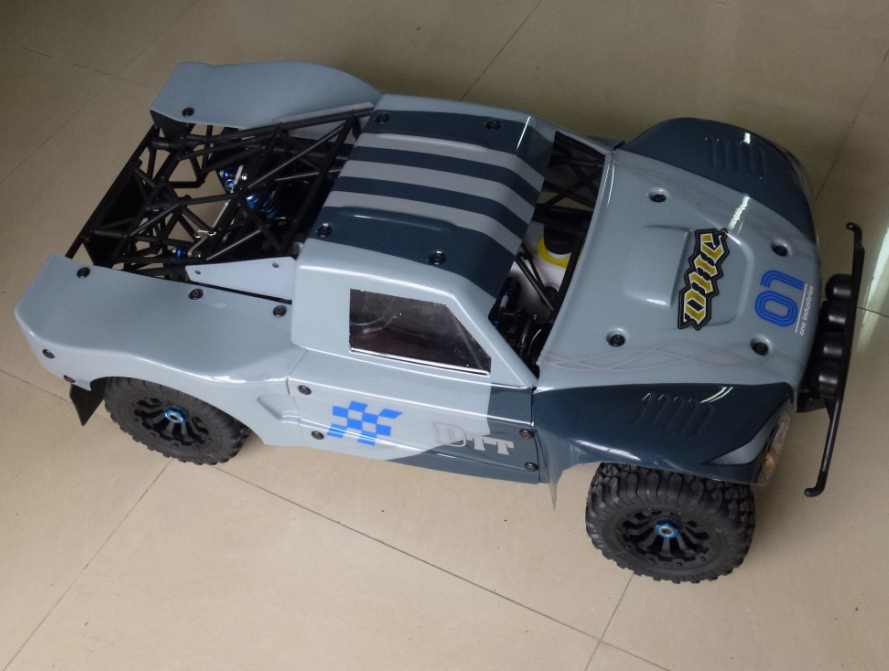 Free Shipping,29cc 4wd 1/5 Scale Gas Powered Rc Car ,Rc