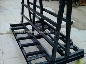 glass trolley for glass sheet